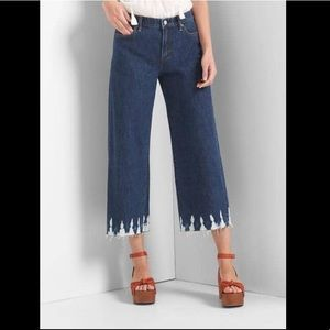 Gap Wide Leg High Rise Jeans Size 24